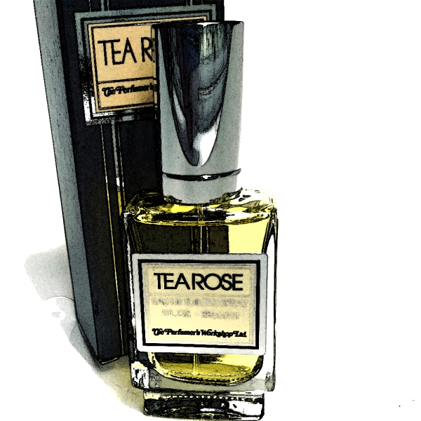 tea rose edgy