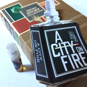 a city on fire