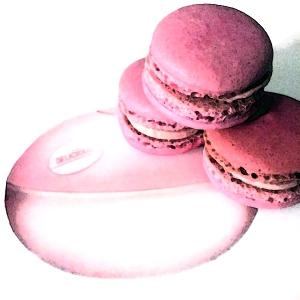 pink macaron edgy