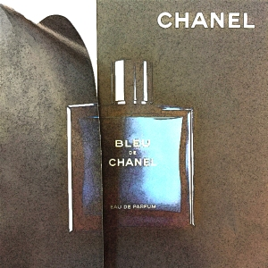 Bleu de Chanel edgy