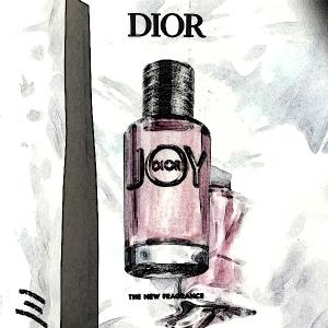 joy dior edges
