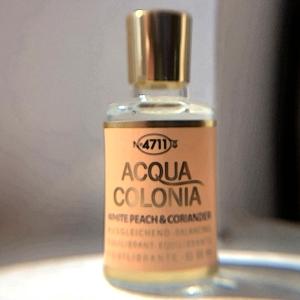 4711 white peach coriander